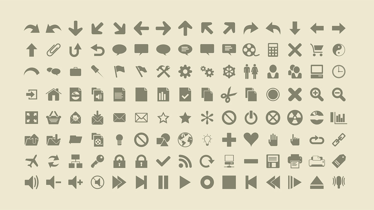 20 + Sets of Free Royalty Free Icons
